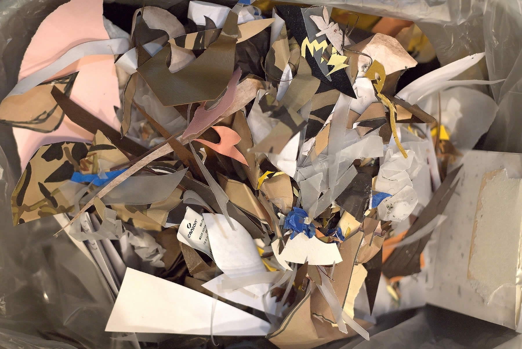 pile of paper photograph