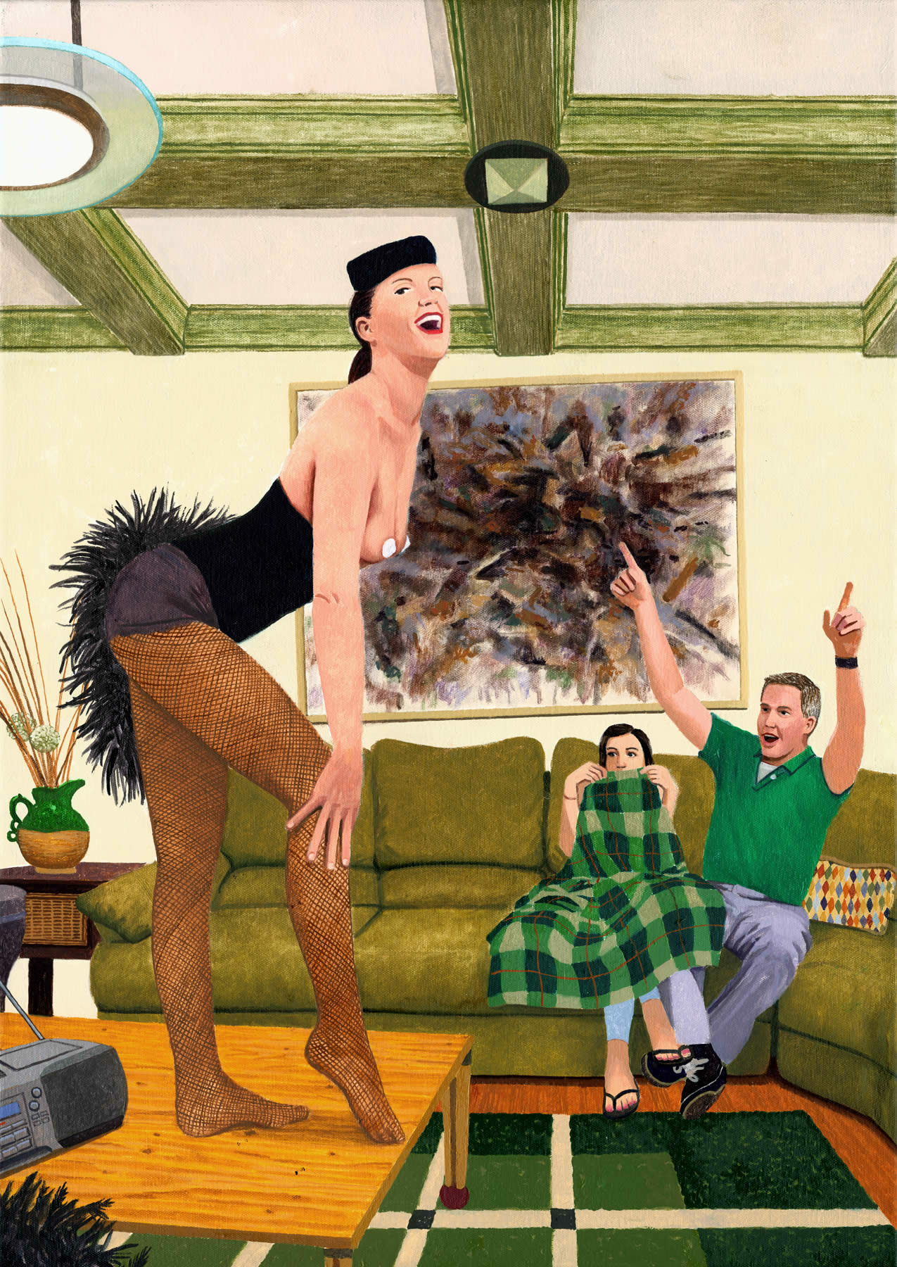 She Was Beginning to Think Their Burlesque Dancer Houseguest Wasn't the Best Idea