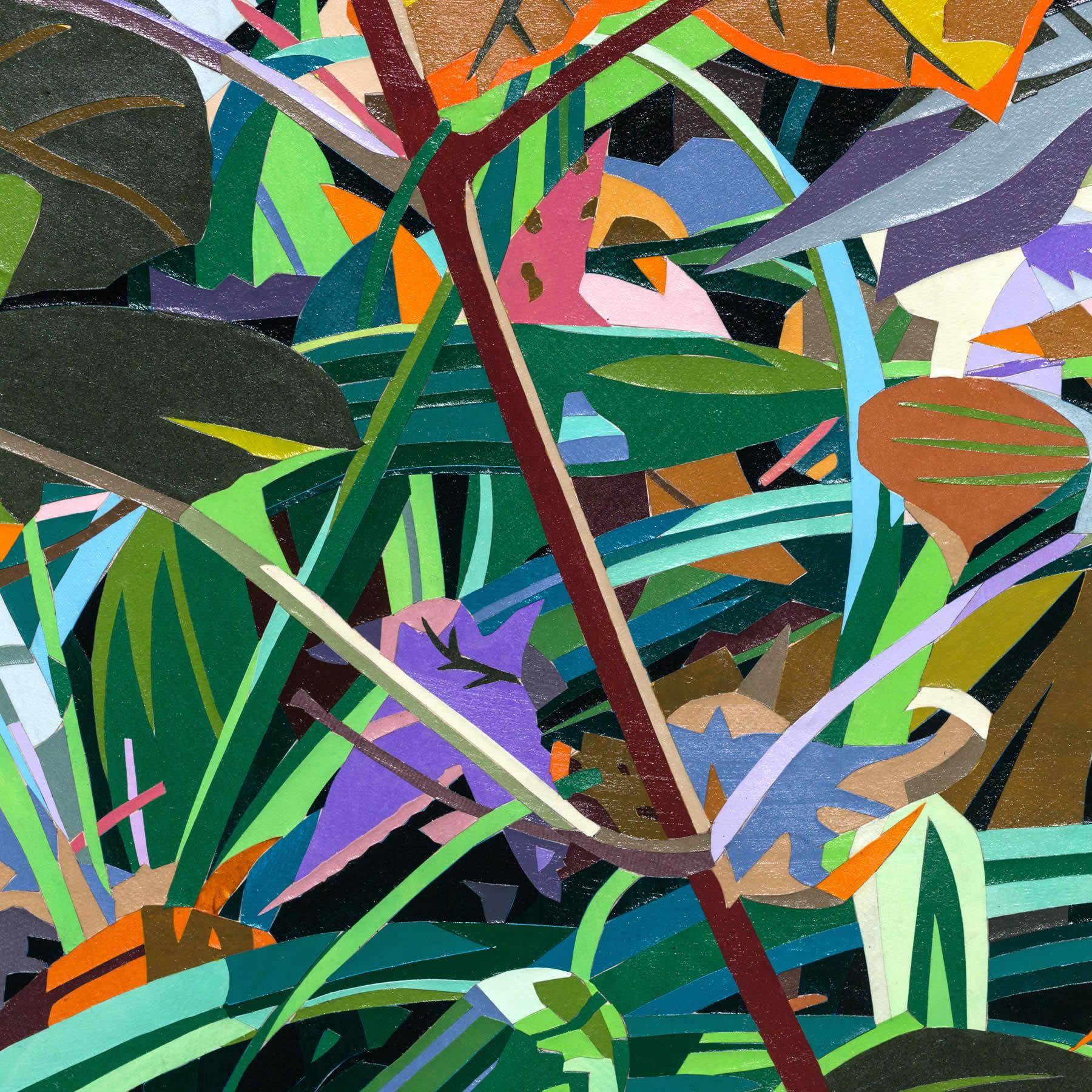 Leafy Spot With Oakleaf Hydrangea