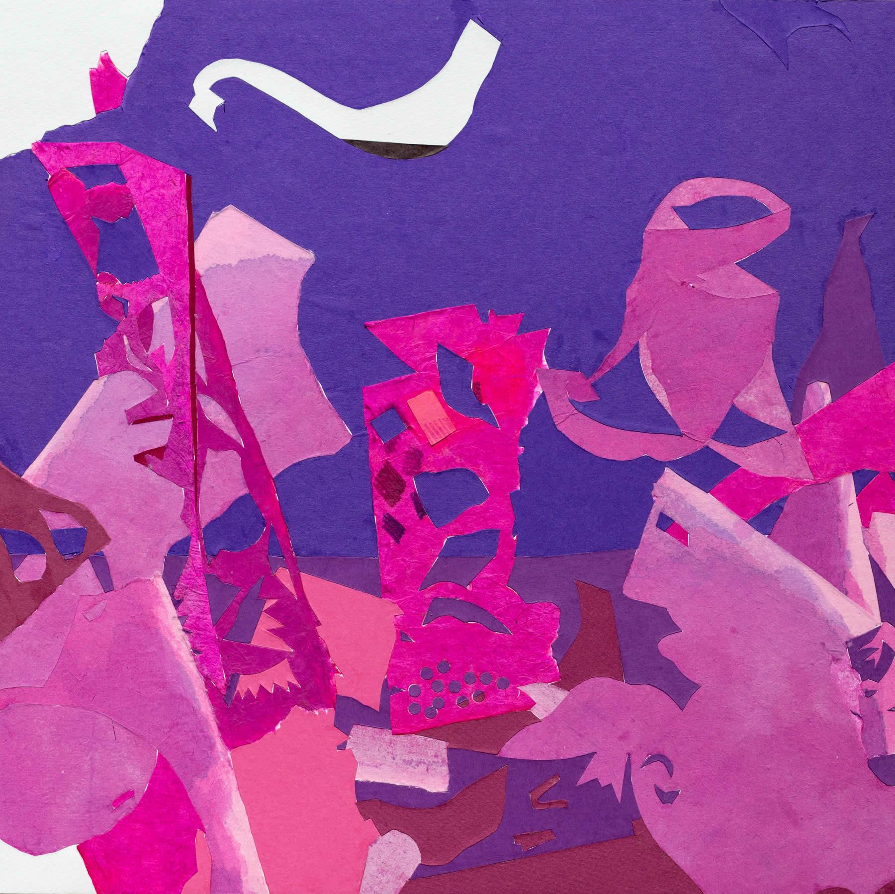 Pile 5 (Purples & Pinks)